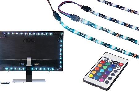 tv hintergrundbeleuchtung dealmix. Black Bedroom Furniture Sets. Home Design Ideas