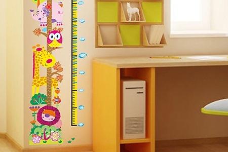 messlatte und weltkarte als wandsticker f rs kinderzimmer f r chf inkl versand 35. Black Bedroom Furniture Sets. Home Design Ideas