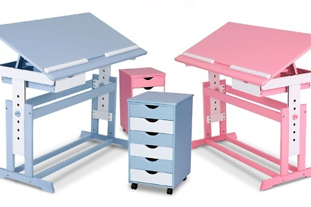 Infantastic children 39 s desk optional with rolling container from chf with free delivery - Roller kinderschreibtisch ...