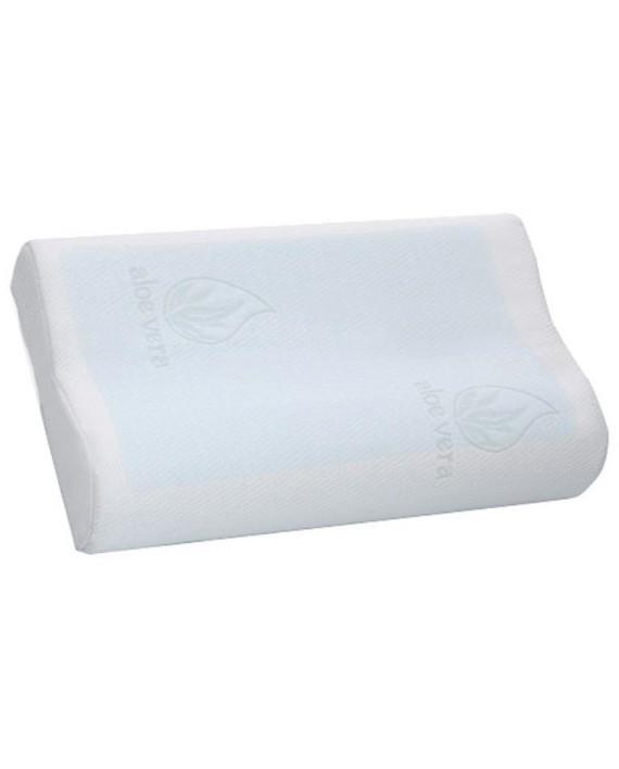 oreiller moco en mousse m moire de forme avec gel 50 x 30 cm dealmix. Black Bedroom Furniture Sets. Home Design Ideas
