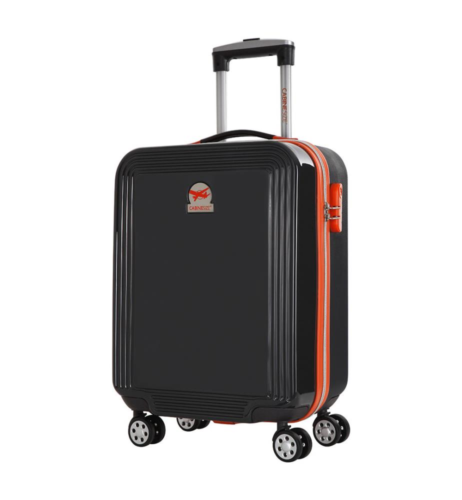 valise cabine size fox 50 cm anthracite dealmix. Black Bedroom Furniture Sets. Home Design Ideas