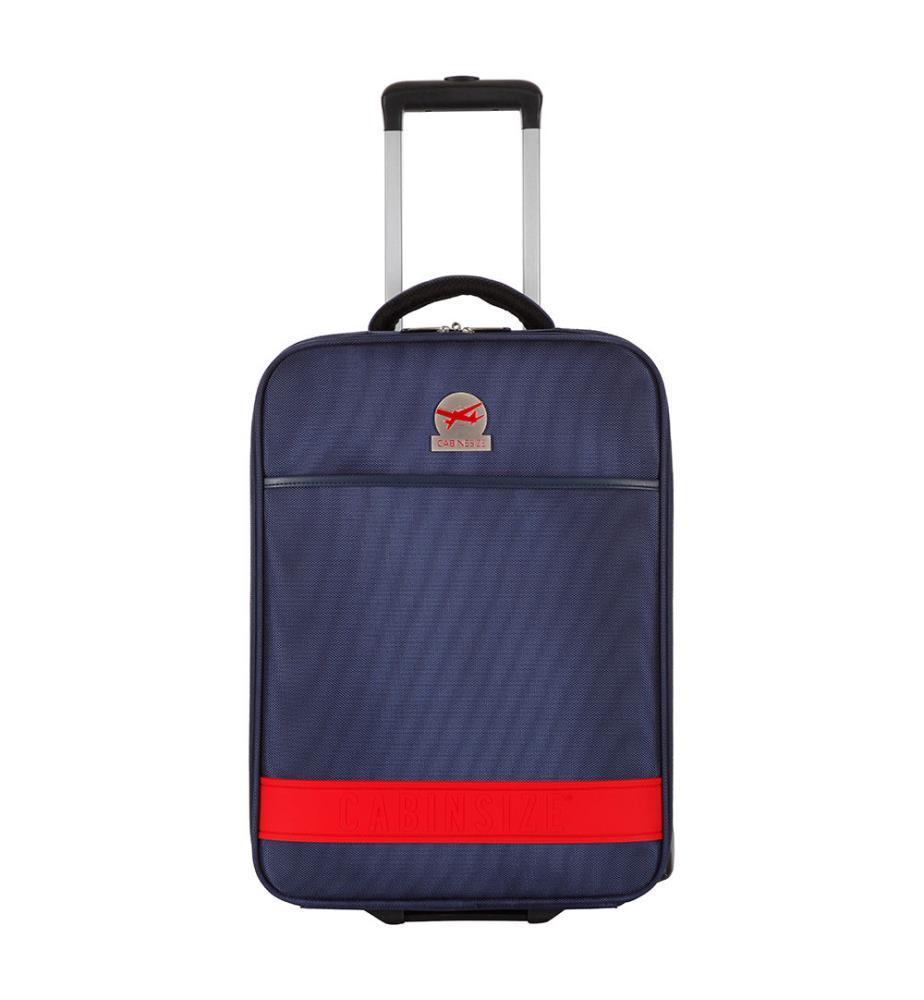 valise cabine size jazz 46 cm marine et rouge dealmix. Black Bedroom Furniture Sets. Home Design Ideas