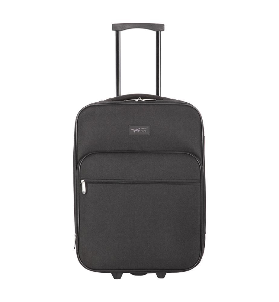 valise cabine size browallia 50 cm noir dealmix. Black Bedroom Furniture Sets. Home Design Ideas