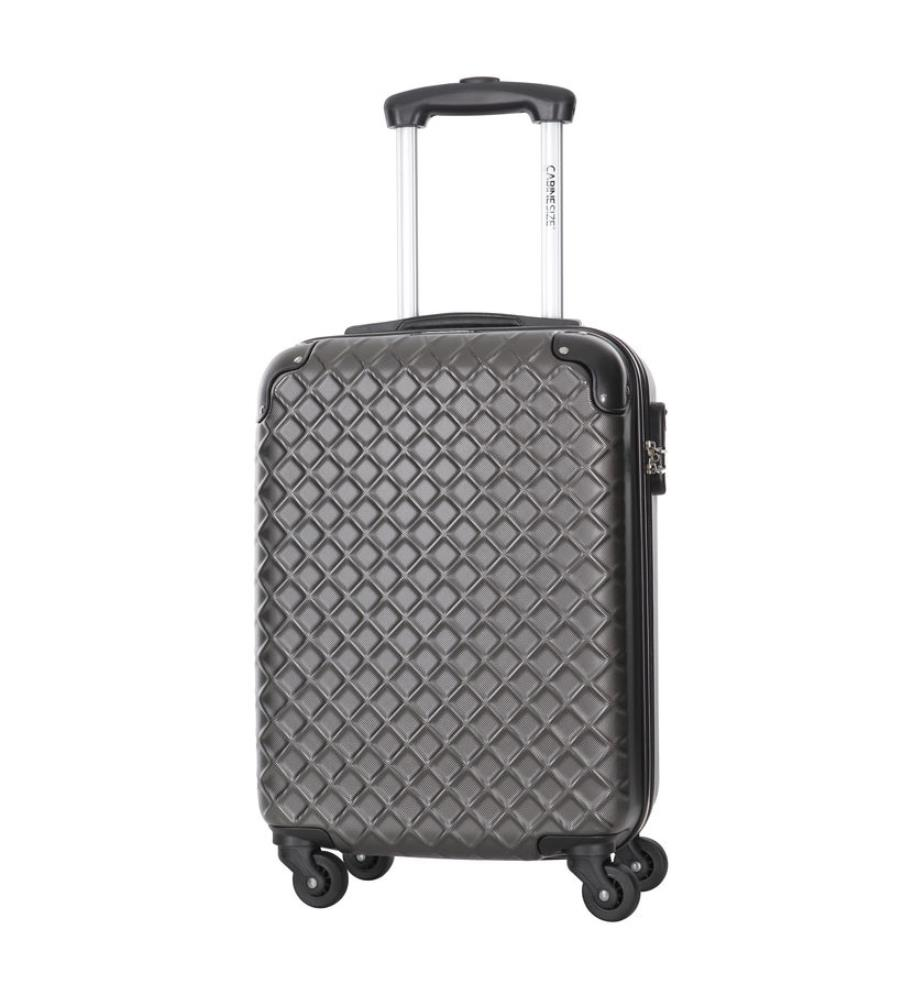 valise cabine size centaur 50 cm gris dealmix. Black Bedroom Furniture Sets. Home Design Ideas