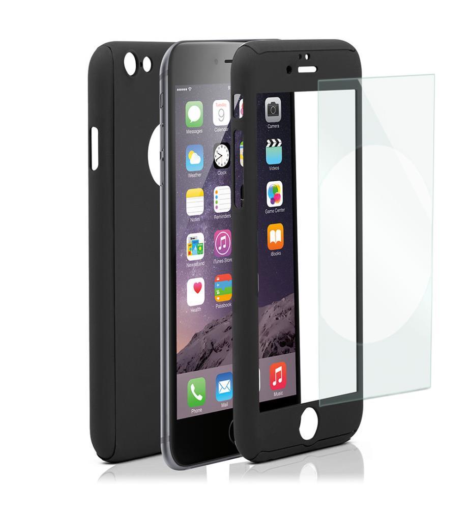 Housse de protection iphone 6plus noir dealmix for Housse protection iphone 7