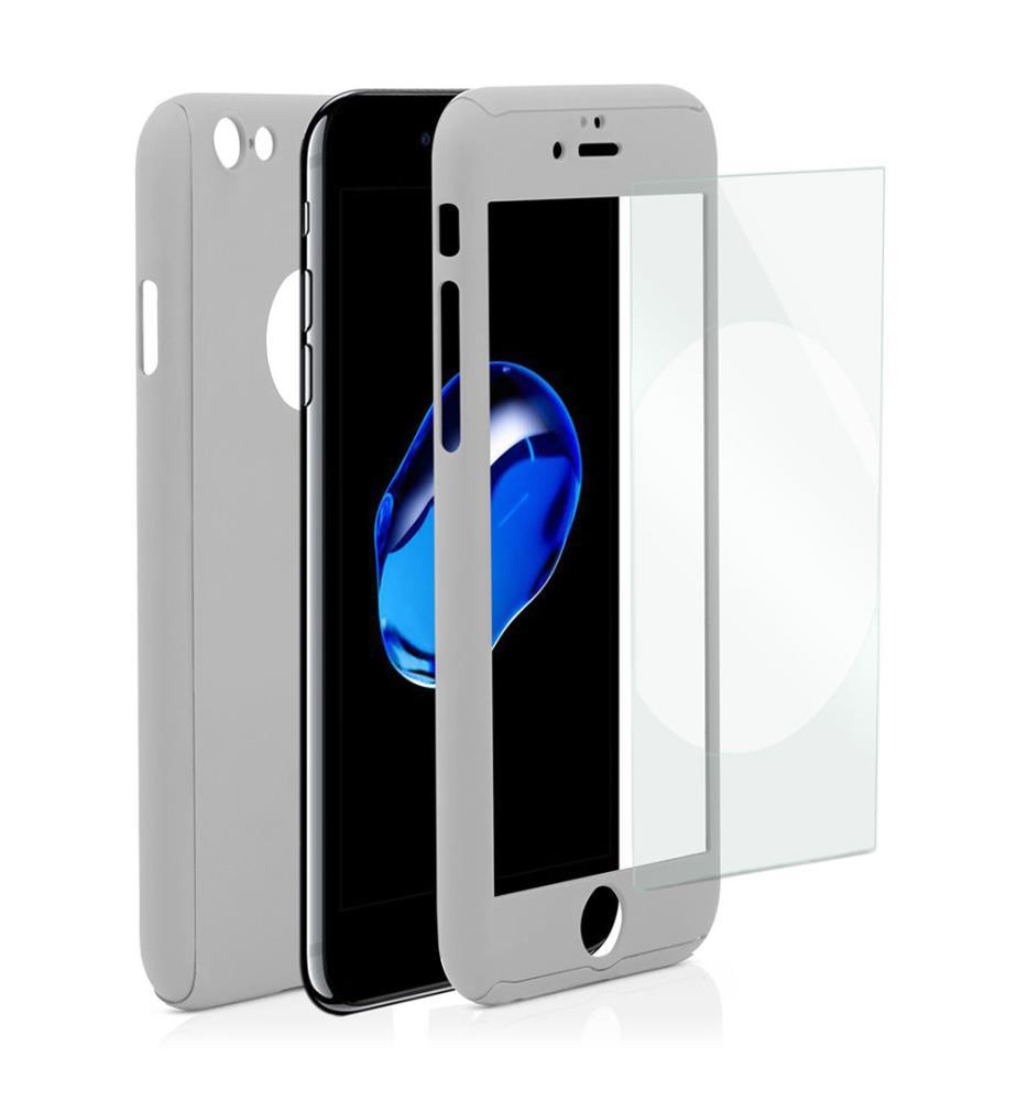 Housse de protection iphone 7 argent dealmix for Housse iphone 7