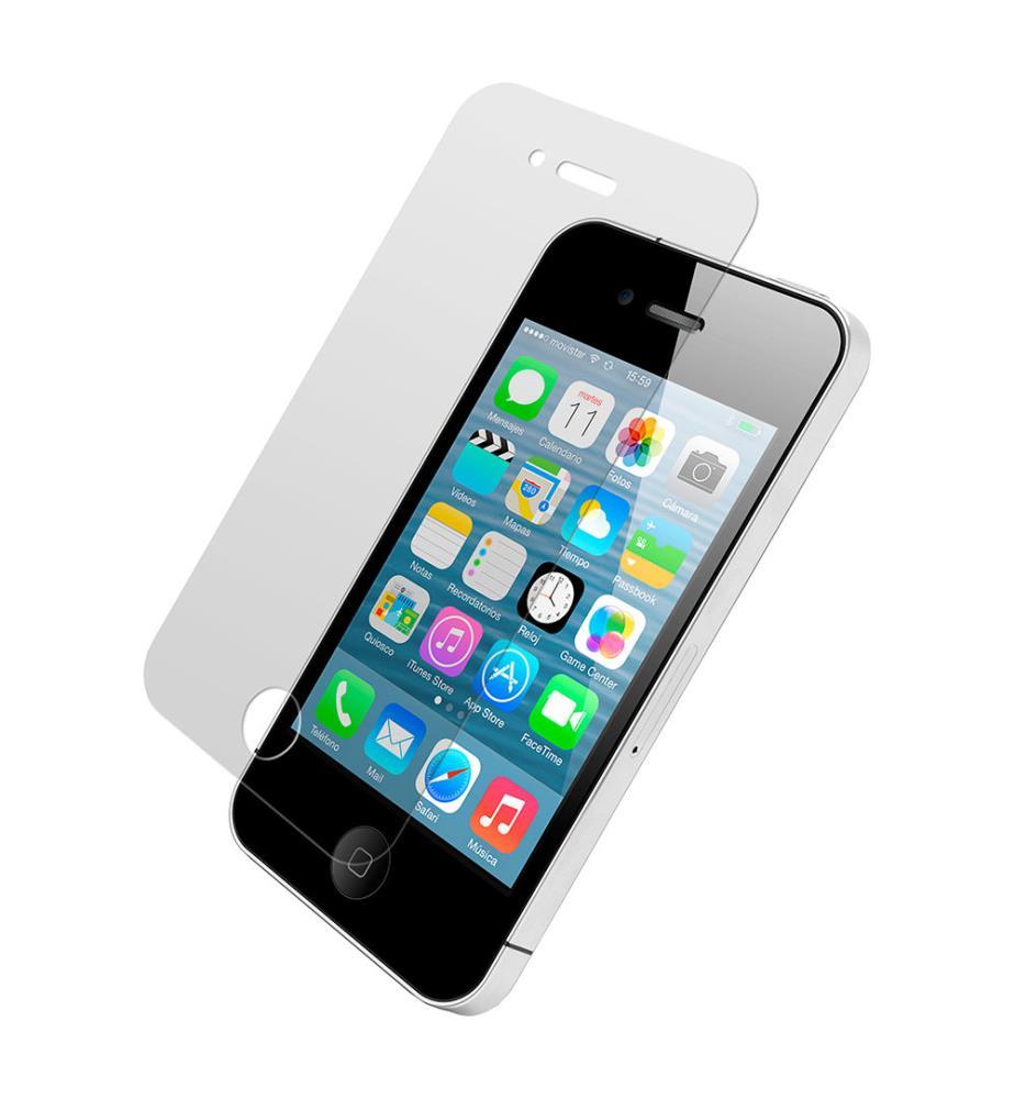 vitre protectrice d ecran iphone 4 4s transparent dealmix. Black Bedroom Furniture Sets. Home Design Ideas