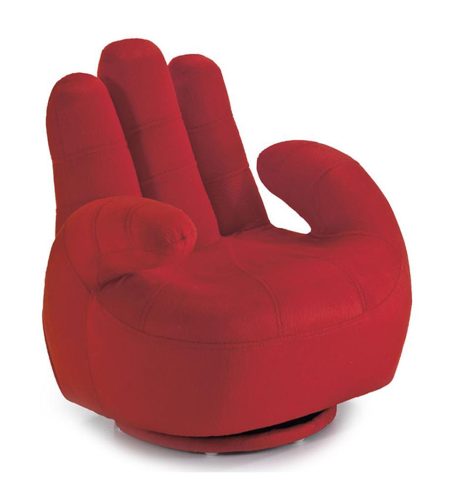 fauteuil enfant mano rouge dealmix. Black Bedroom Furniture Sets. Home Design Ideas
